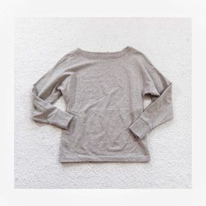 Super soft lou and Grey Beige Crewneck Sweater